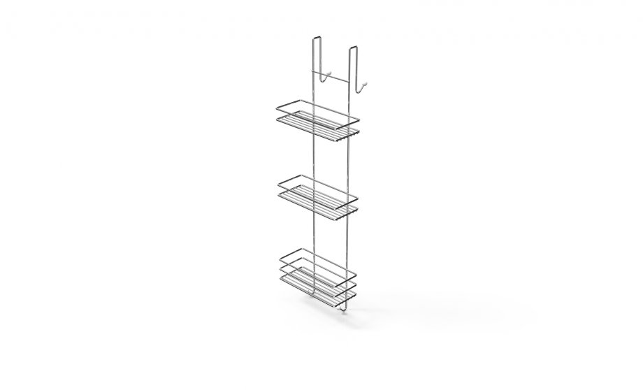 LM066 Cabinet Hanger 3 Tiers / Chrome