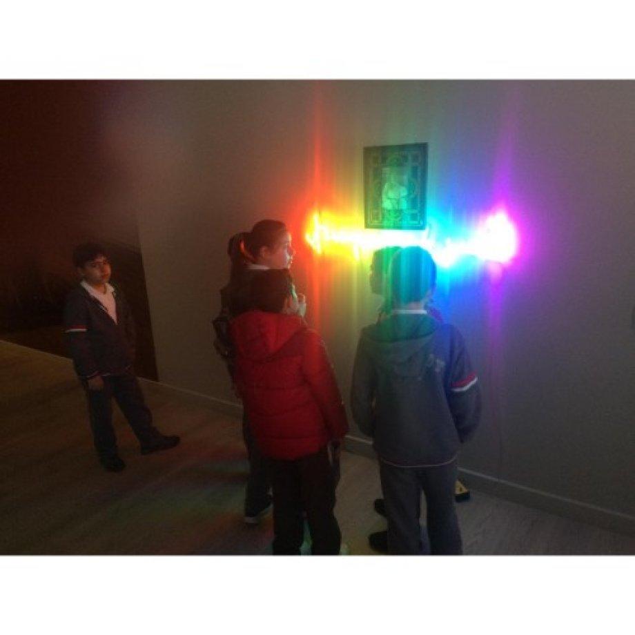 5.ve 7. Sınıf Öğrencilerimiz Pera Müzesinde Paracanov Sergisini Gezdi.