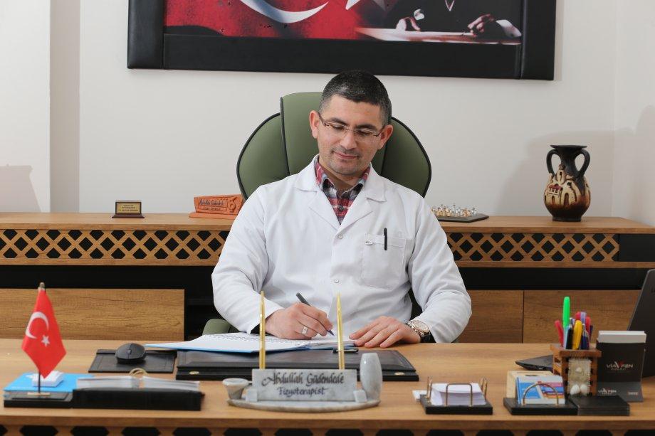 Ünlü Fizyoterapist Abdullah Güdendede Aksaray'da Yaz Aylarında Bel Ağrıları Konusunda Uyarılarda Bulundu