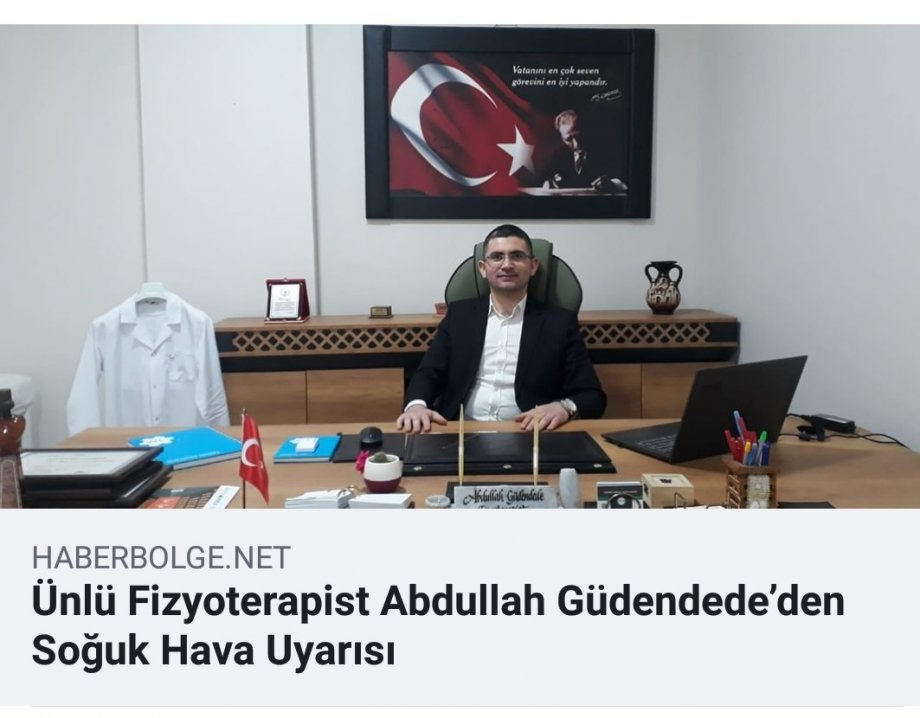 ünlü fizyoterapist abdullah güdendede, aksaray uzman fizyoterapist, aksaray manuel terapi