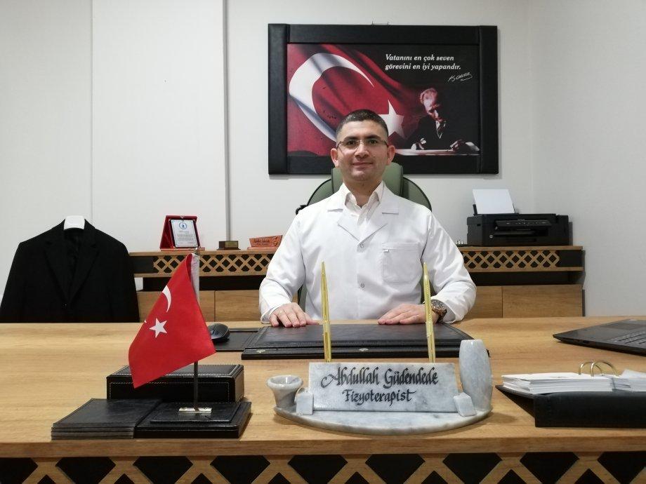 Aksaray İlk Fizyoterapist Abdullah Güdendede- Aksaray Fizyoterapist