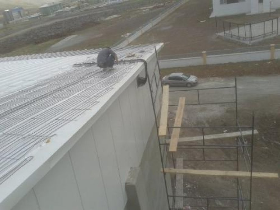 Bitlis Eren University Roof Snow and Ice Melting System