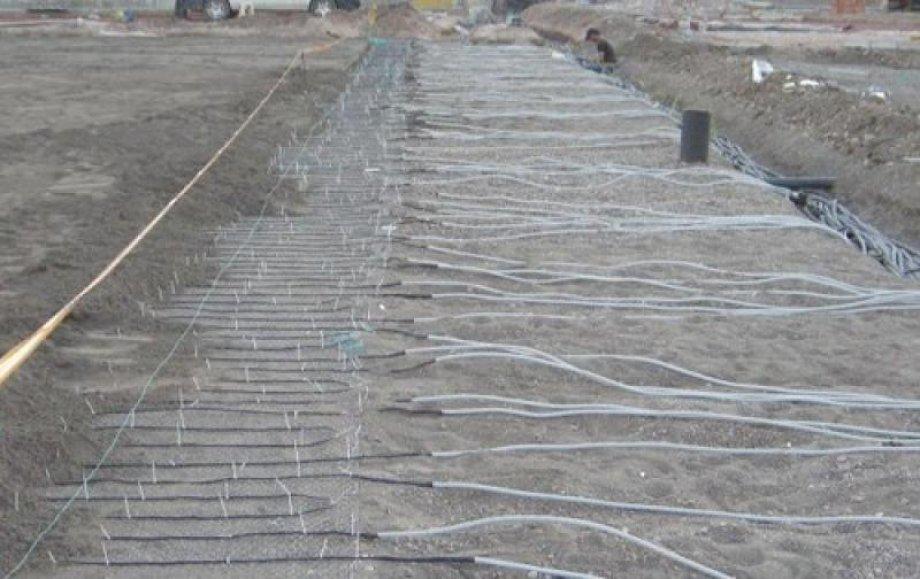 Old Sivasspor 4 Eylül Stadium Electrical Underfloor Heating System