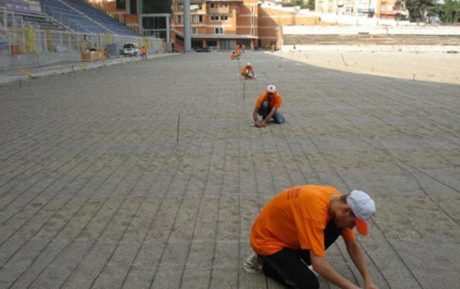Recep Tayyip Erdoğan Kasımpaşa Stadium Elektrical Heating System