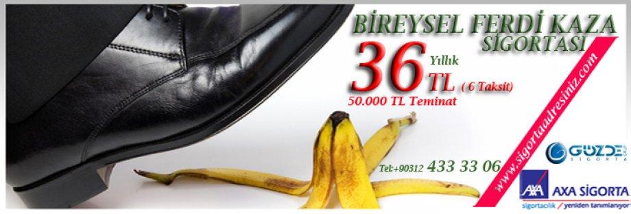 AXA'da BİREYSEL FERDİ KAZA KAMPANYASI!!!