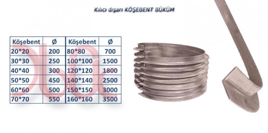 Köşebent Büküm-K.DIŞA