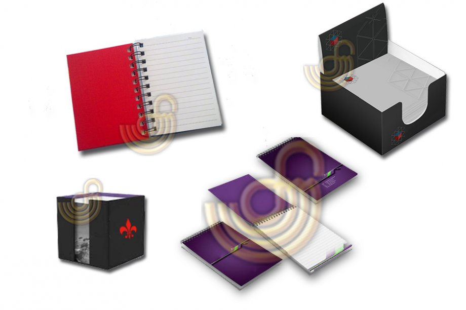 Cube Note - Notepad Manufacturing
