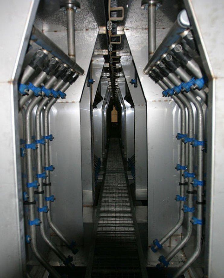 Otomatik Tünel Tip Elektrostatik Toz Boya Fırını