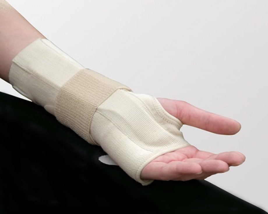 AB - 42251 ADELBRAND Cotton Wrist Support with Immobilization Splint