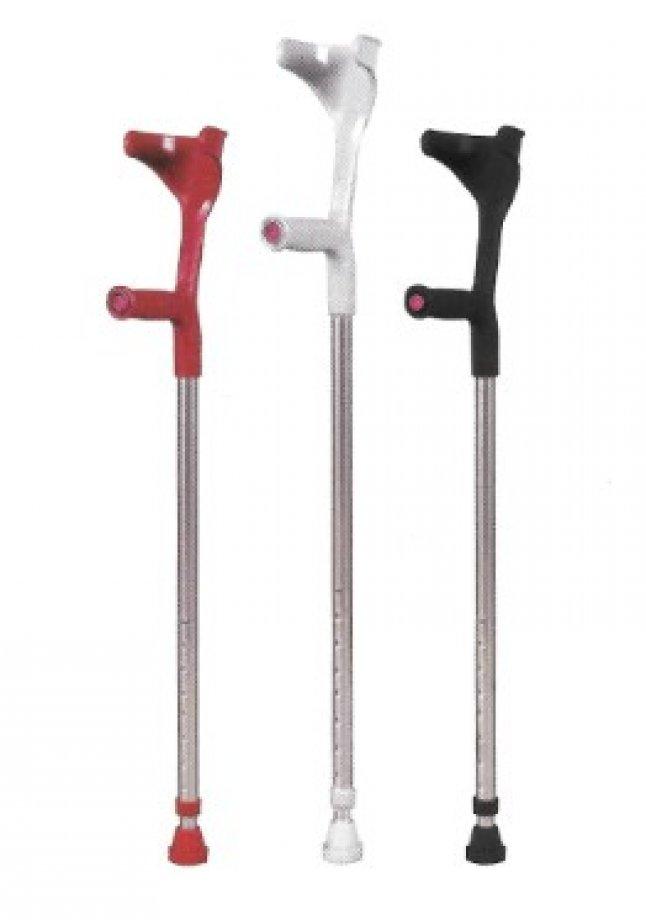 AB - 9006 ADELBRAND Aluminum Forearm Crutch - Height Adjustable