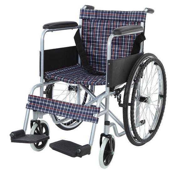 AB - 9031 ADELBRAND Foldable Manual Wheelchair