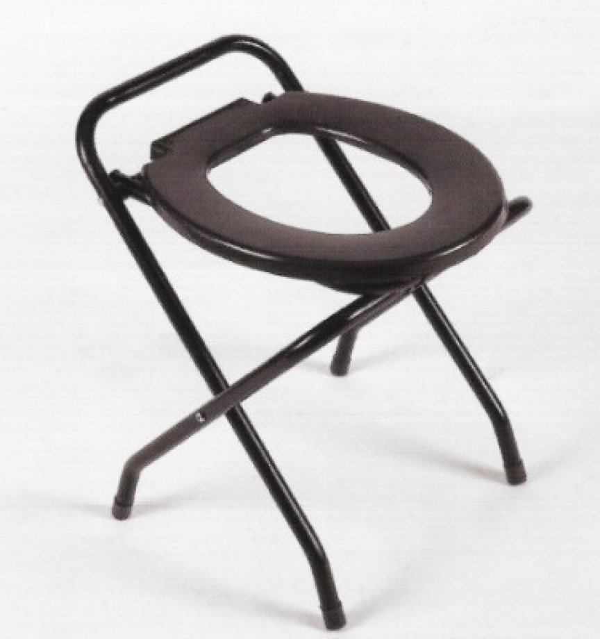 AB - 9014 ADELBRAND Foldable Commode Chair
