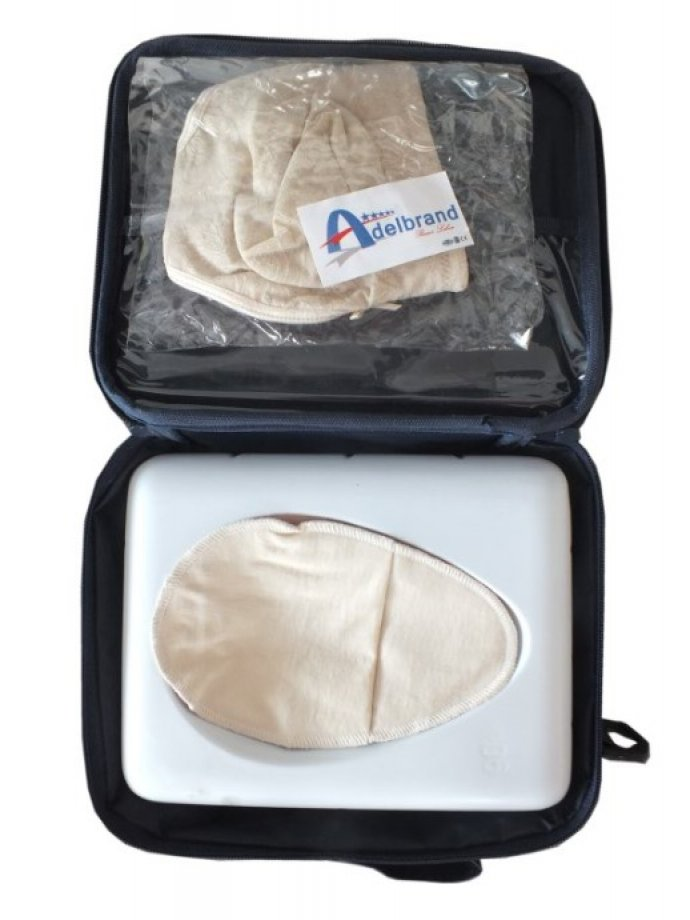 AB - 8200 ADELBRAND Silicone Breast Prosthesis with Bra