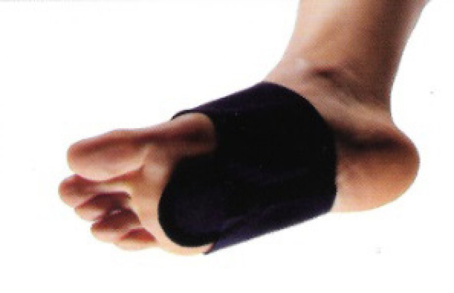 AB - 8016 ADELBRAND Metatarsal Silicone Pad Holstered with Fabric