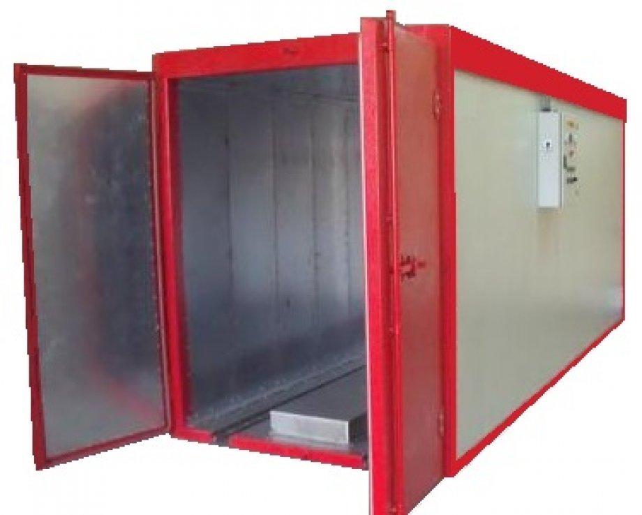 Box Kutu Tip Elektrostatik Toz Boya Fırını