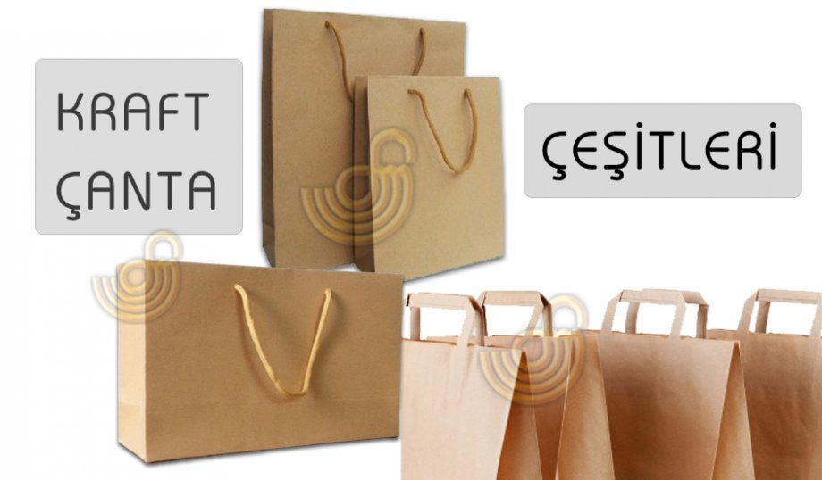Karton Çantalar - Kraft Çantalar