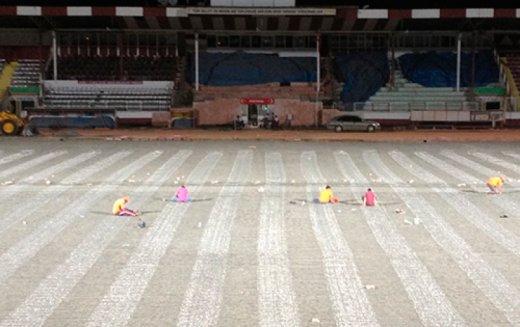 Elazığ Atatürk Stadyumu Elektrikli Yerden Isıtma