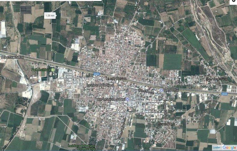 Aydın Satılık Arsa 6500 m² İncirliova 5.000.000TL