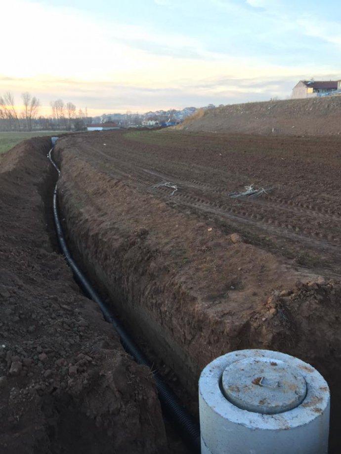 Yenifakıllı İlçesi Kanalizasyon İhmal Hattı Yapım İşimiz Teslim Edilmiştir.
