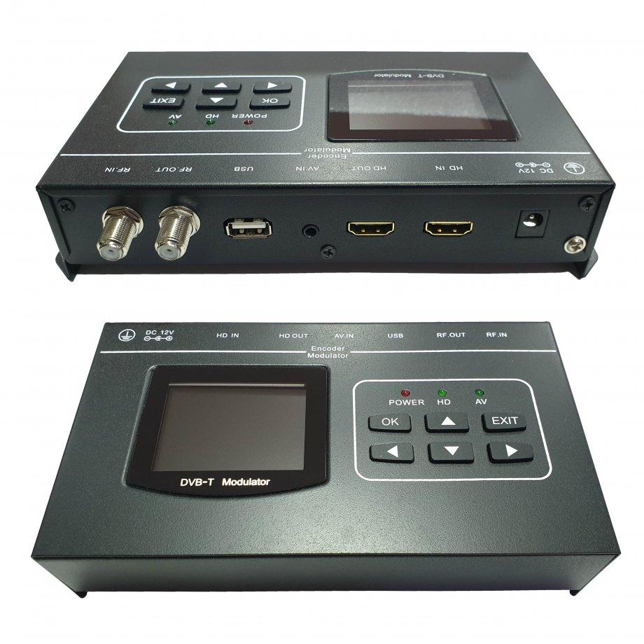 DİVİSAT DT - 300 HDMI/CVBS DVB -T Encoder Modülatör