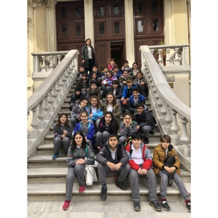 5. ve 6. Sınıf Öğrencilerimizin Arkeoloji Müzesi Gezisi.