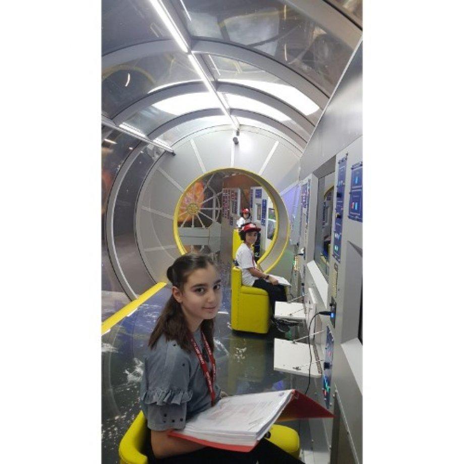 Öğrencilerimiz Uzay Kampında