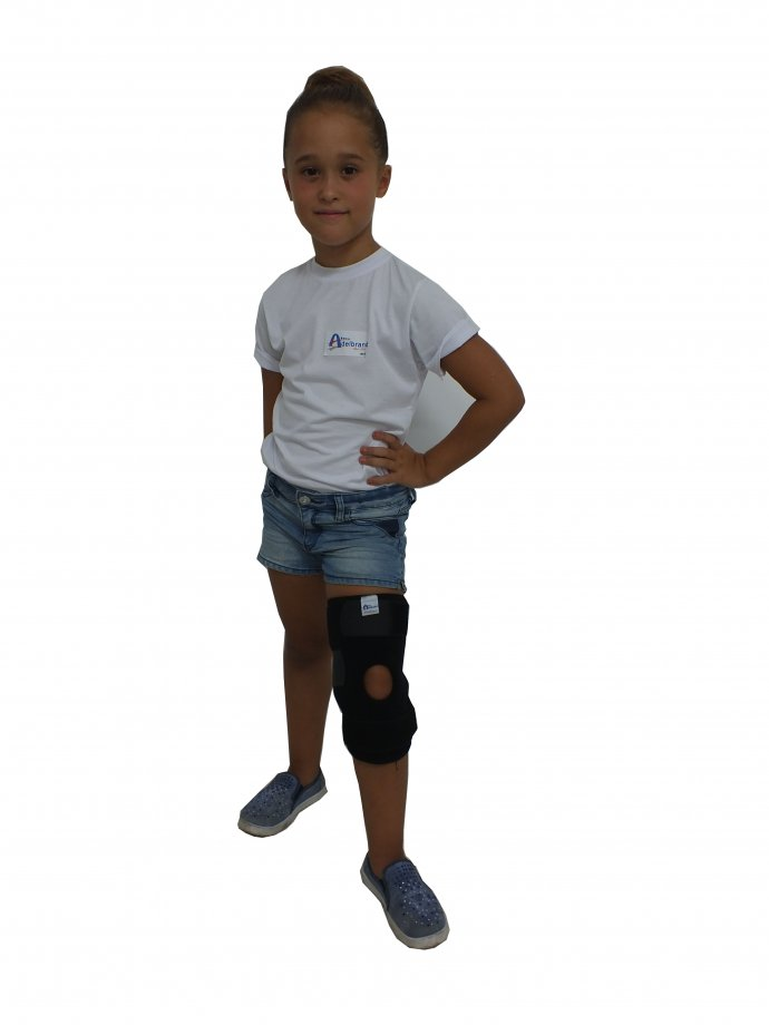 AB/P - 18 ADELBRAND KIDS Knee Support with Ligament