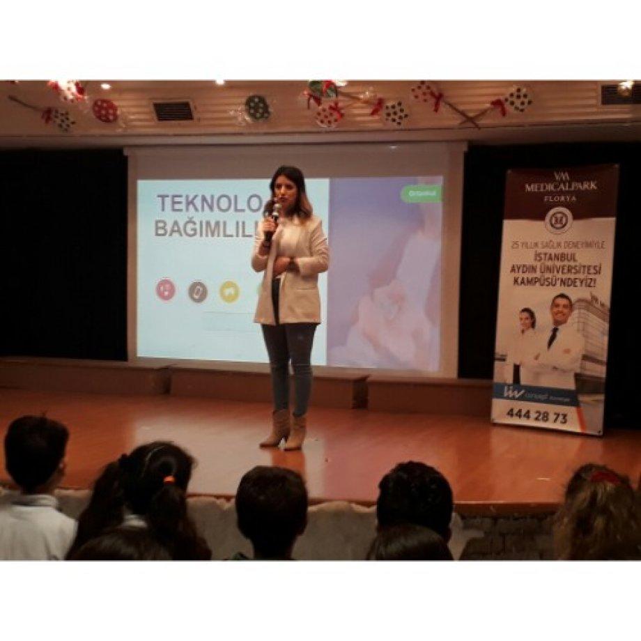 Okulumuzda Teknoloji Bağımlılığı Semineri