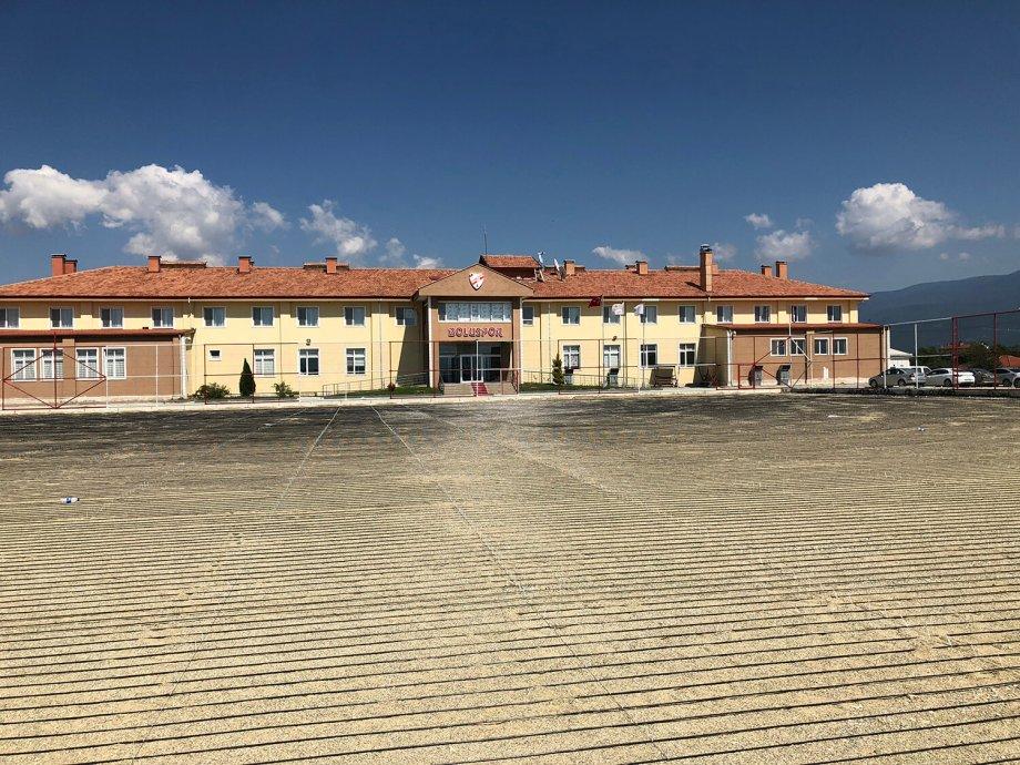 Boluspor Kulübü Antrenman Sahası Elektrikli Yerden Isıtma Sistemi