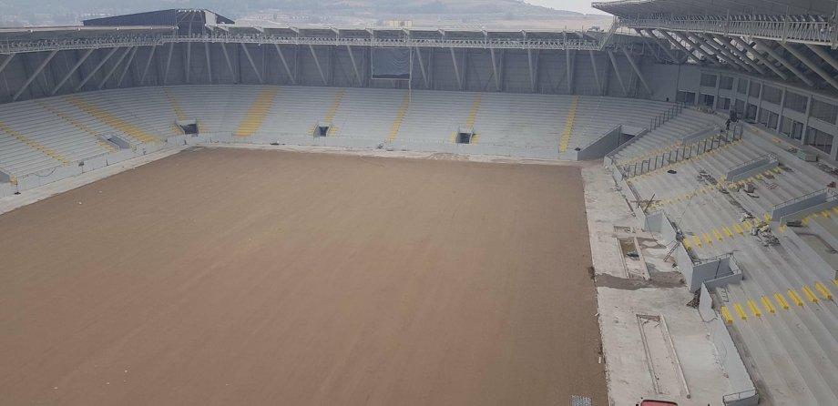 Çorum 15000 Kişilik Yeni Şehir Stadyumu Elektrikli Yerden Isıtma Sistemi