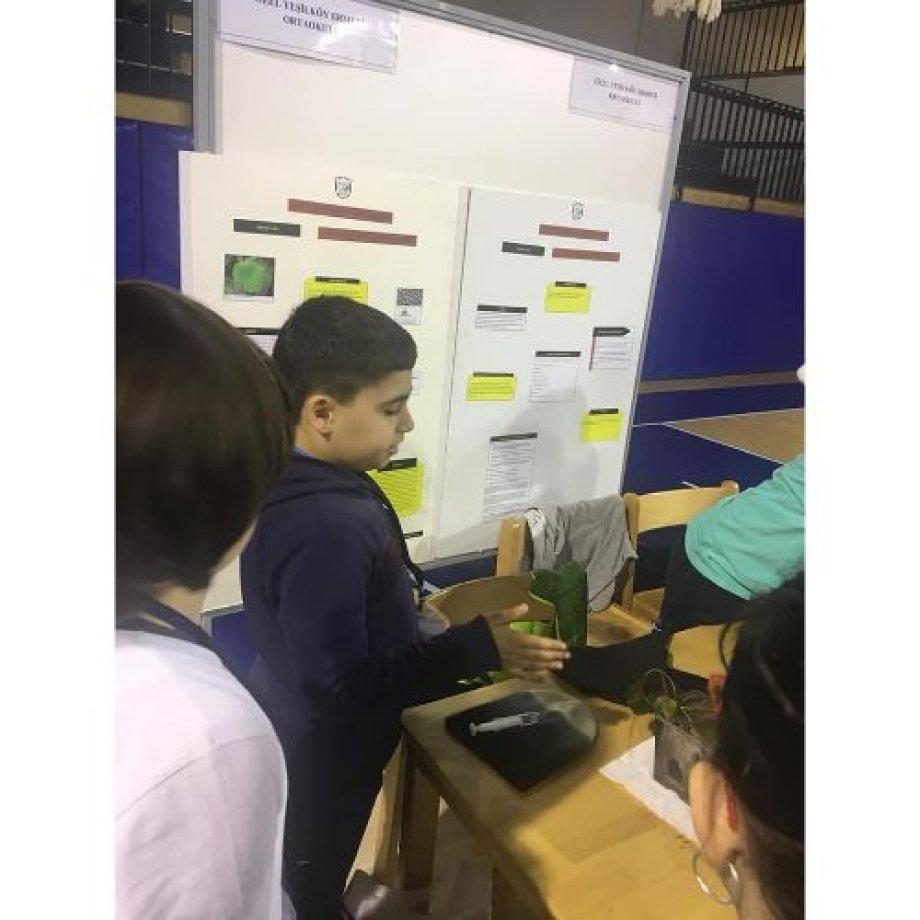 """Öğrencilerimiz İTÜ Geliştirme Vakfı Okullarının düzenlemiş olduğu """"3.Geleneksel Fen Bilimleri ve Bilişim Proje Yarışması""""da."""