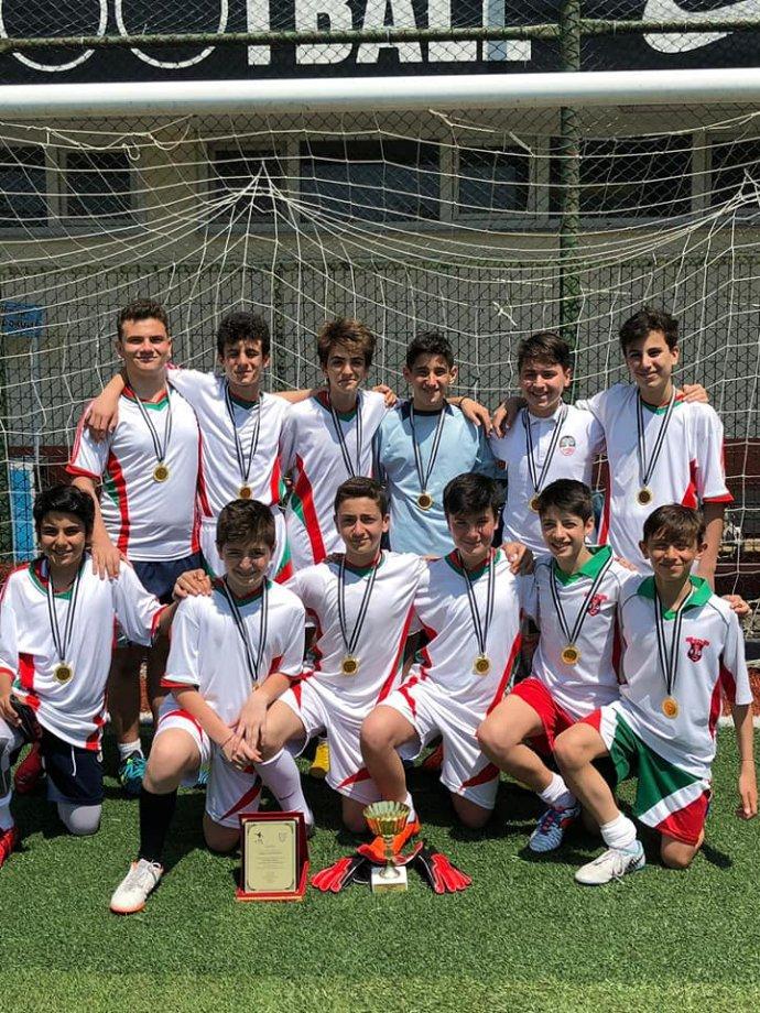 Okul Futbol Takımımızın Şampiyonluğu.