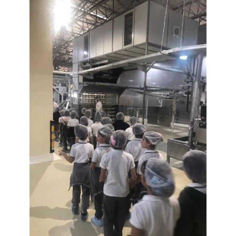 3.sınıf öğrencilerimiz istanbul halk ekmek fabrikasına gittiler