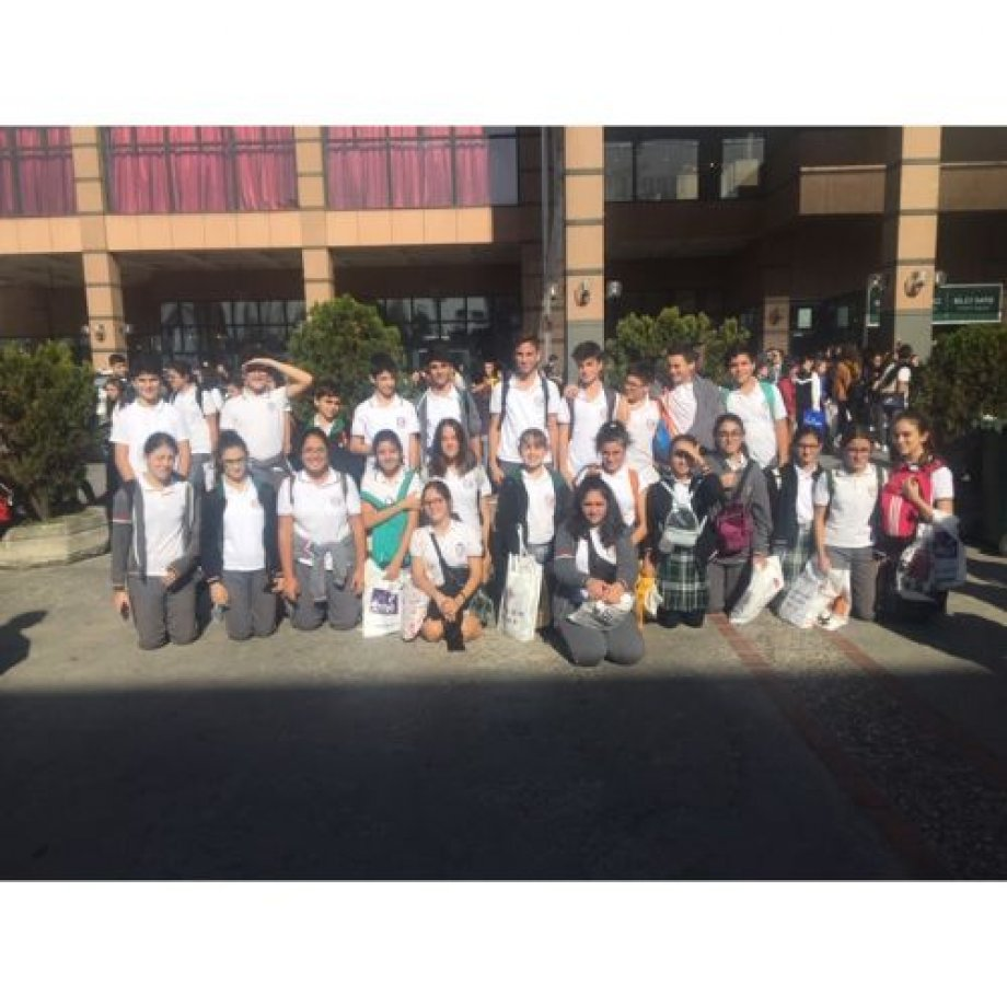 8.sınıf öğrencilerinin TÜYAP Gezisi