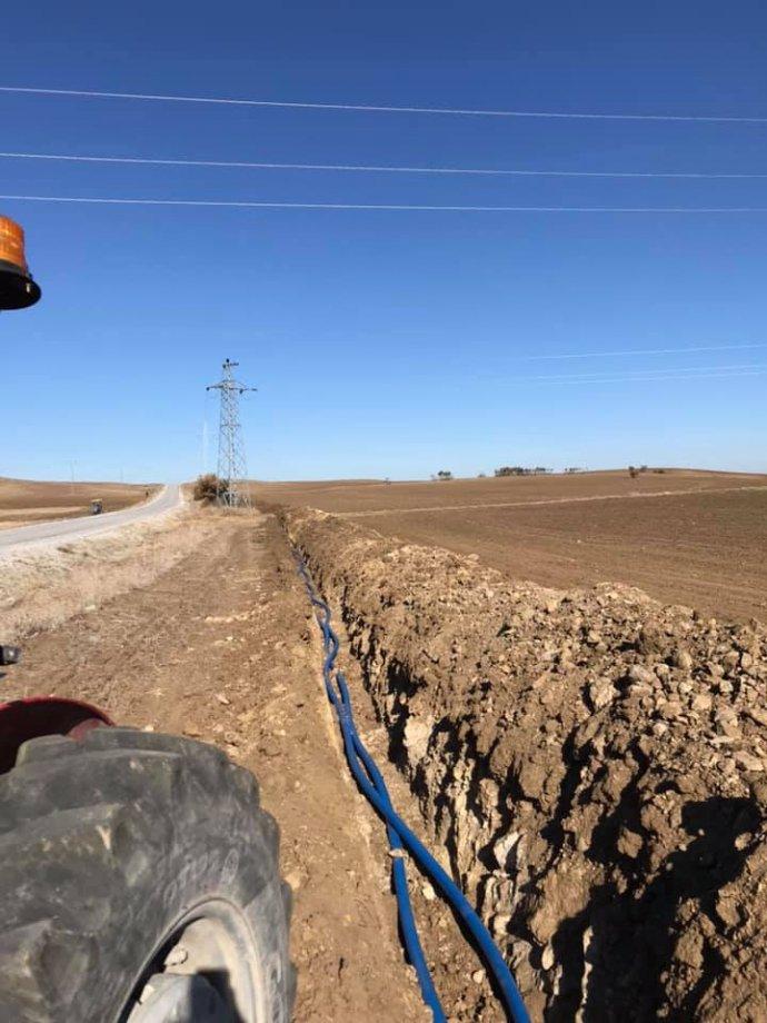 Pazarcık Çevirme ve Sarıgüney Köyleri İçme Suyu İsale Hattı ve Enerji Nakil Hattı Yapım İşimiz Teslim Edildi.