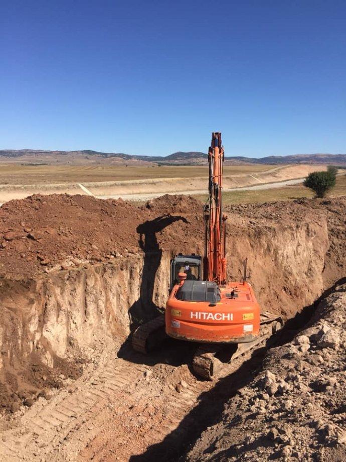 Sivas Belcik Köyü İçme Suyu Şebeke Hattı Yapım İşimiz Teslim Edilmiştir.