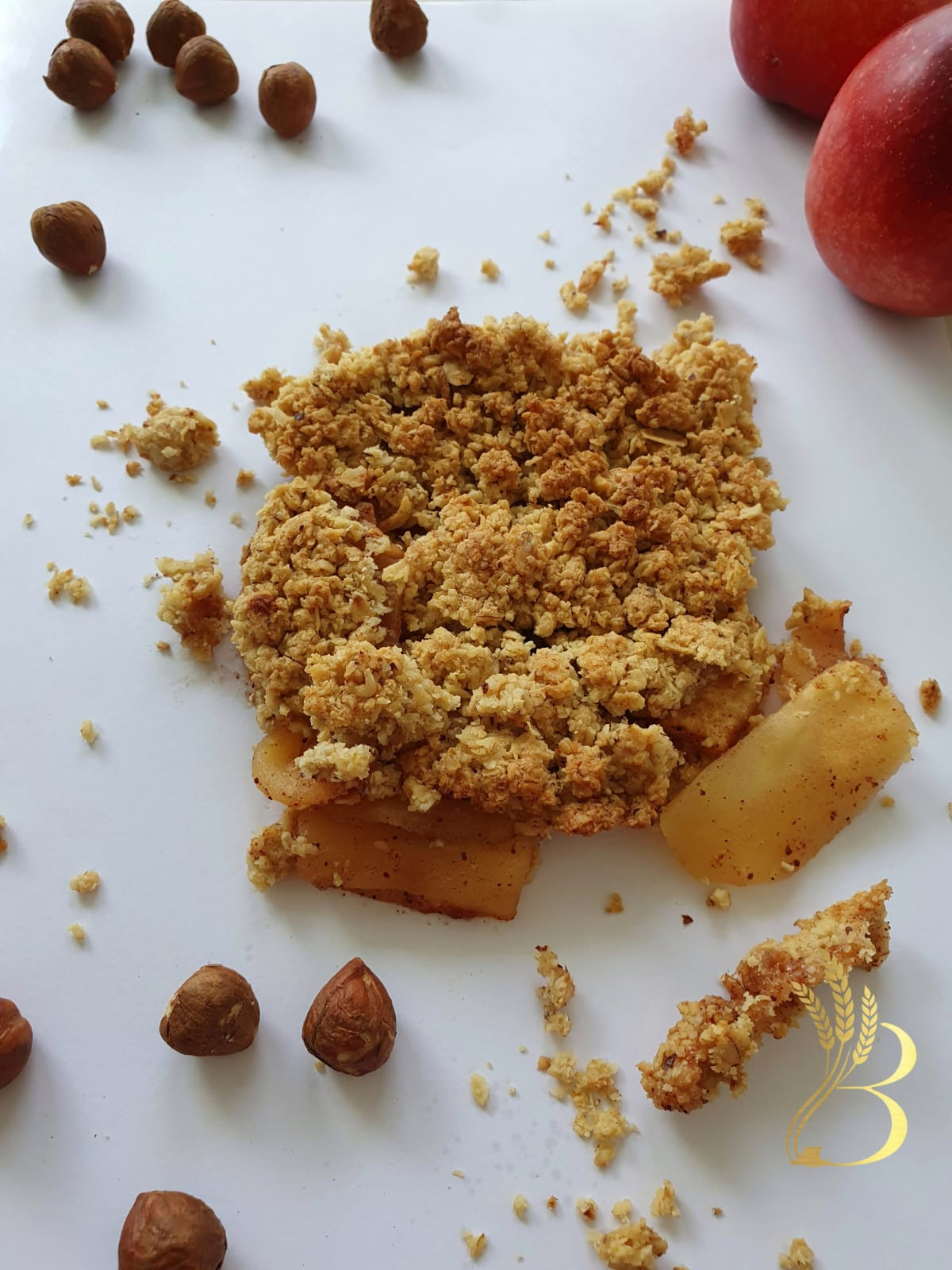 Elmalı Crumble