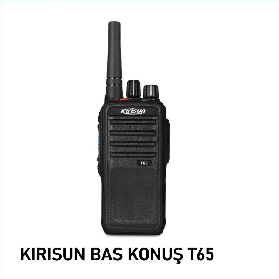 Kirisun T65 Bas Konuş Telsiz
