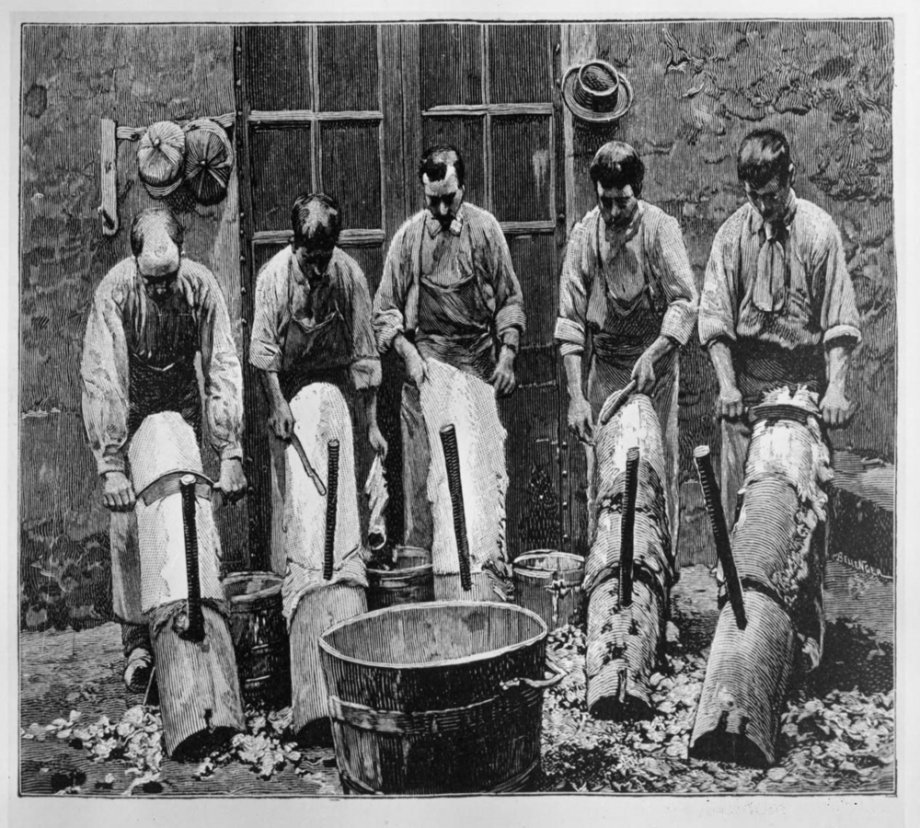 History Of The Sheepskin Leather Tanning