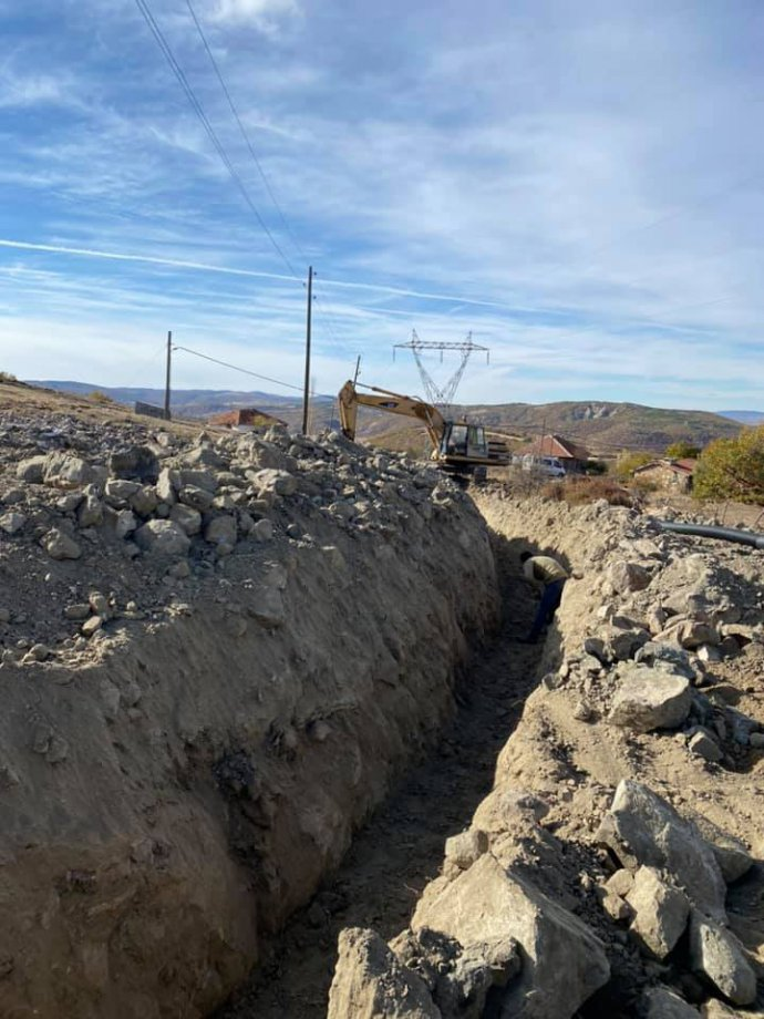 Yozgat Akdağmadeni Okçulu Köyü Alt Yapı İnşaatımız Teslim Edildi