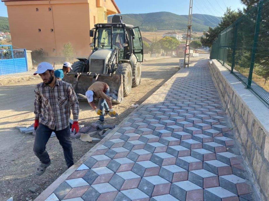 Akdağmadeni Belediyesi Kilit Parke Yapım İşimiz