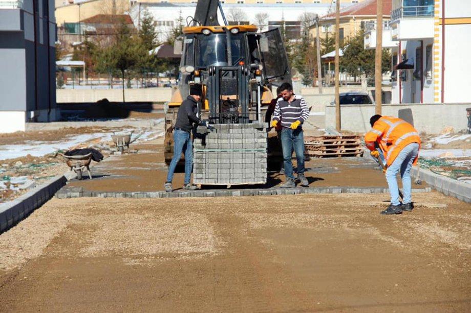Giresun Espiye Belediyesi - 60000 M2 Kilit Parke Yapım İşimiz Devam ediyor.